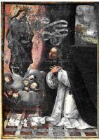 San Giacinto, Castelvetrano, chiesa di San Domenico Bartolomeo Navrretta, Madonna con S.Giacinto e storie