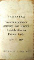 obrazek2 św Jacek Patron Polski rewers