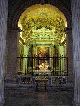 Kaplica św. Jacka w bazylice św. Sabiny na Aventynie w Rzymie
