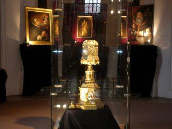 Relikwia św. Jacka na wystawie w kaplicy kościoła św. Mikołaja Jarmark Dominikański A.D. 2007