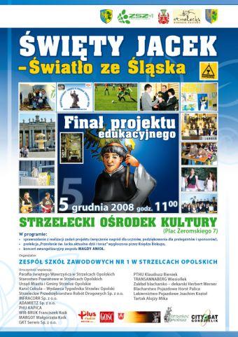Święty Jacek - światło ze Śląska