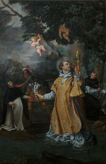 sw jacek w szacie lit biskup