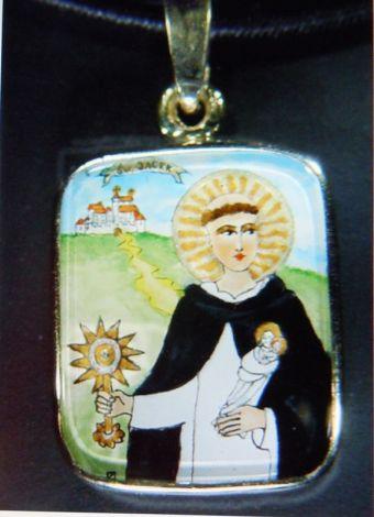 Medalik ze św Jackiem