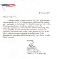 list od dowódcy